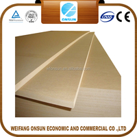 cheap marine black mdf board/wood mdf