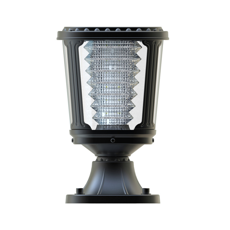 Waterproof Low Voltage Black Outdoor Entry Gate Post Lights12v Led Path Landscape Pathway ...