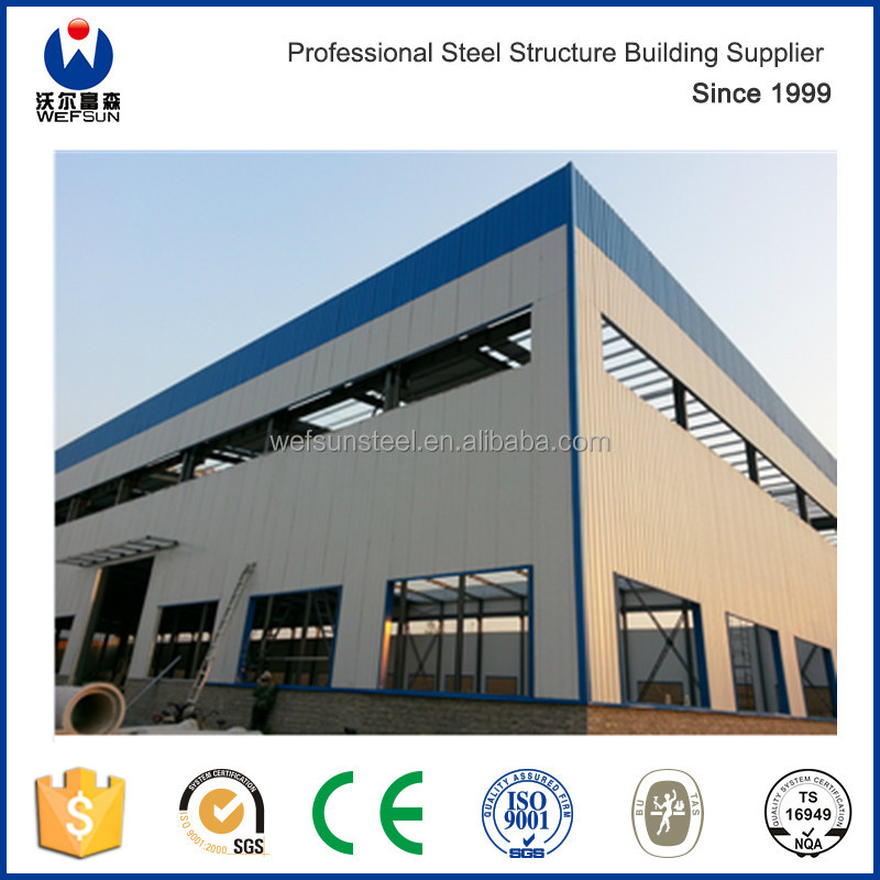 Worldwide hot sale prefabricated warehouse price in China/steel strucure factory