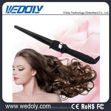 New Brand LED Display Hot Ceramic Round Sponge Hair Curler