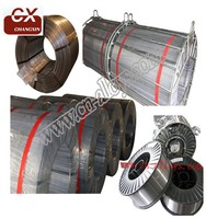 Metal alloy cored wire for steel maker casi ,cafe ,calcium ,mg for steel maker