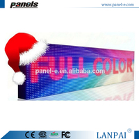 Double side led screen sign for shop outdoor advertising