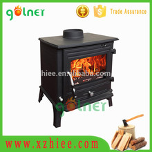 China manufacturer cast iron wood stove double doors with high quality