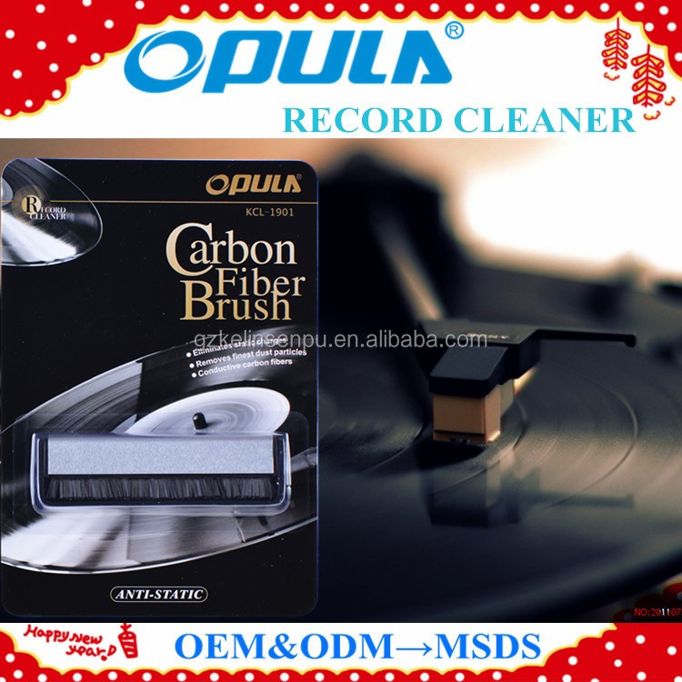 Anti-static carbon fiber brush OEM welcome hot sales vinyl record cleaner