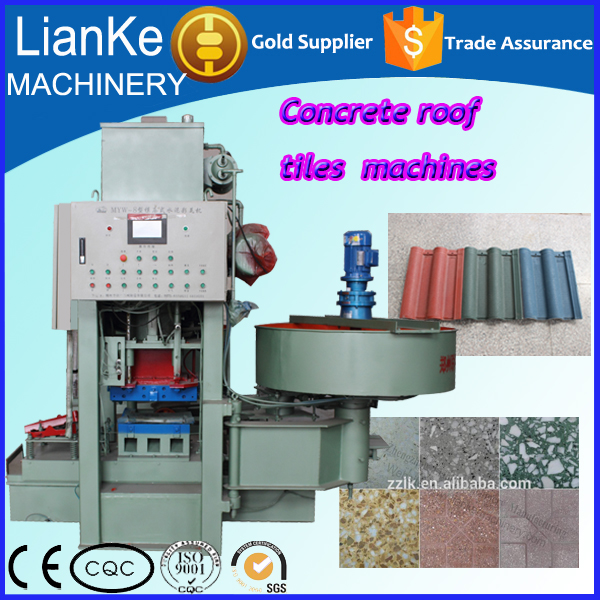 High-Performing Cement Tile Making Machinery Of Wide Usage On Roof, Floor Or Wall