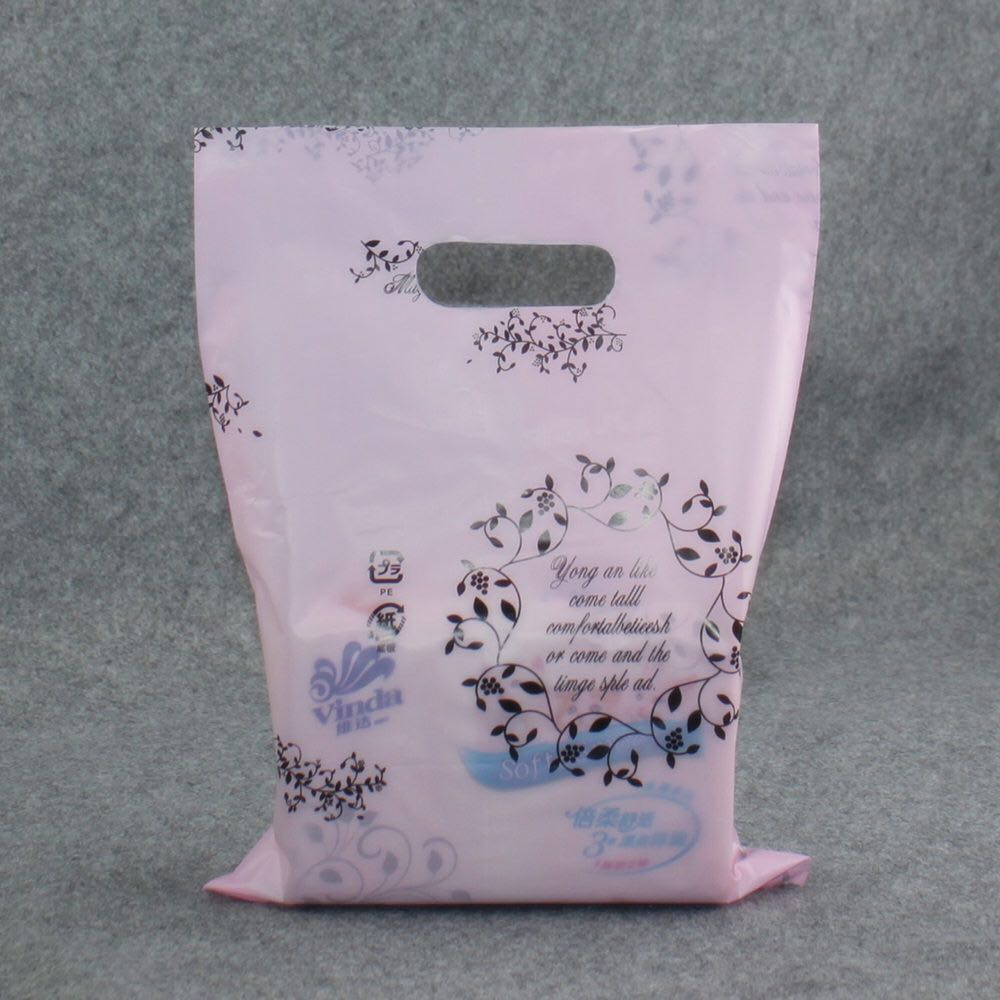Factory Custom Printed Shopping Biodegradable PE/LDPE Design Your Own Plastic Bag Imported From China