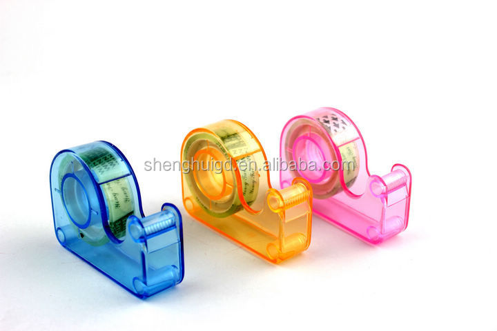 stationery tape cutter seat /small tape glue sets/ stealth snail cutter machine