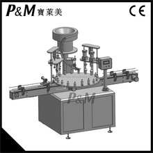 P&M automatic rotary liquid filling machine for small bottle