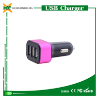 Power craft car battery charger for tablet pc,MP3/MP4/PSP/DV/DC 12v output car charger