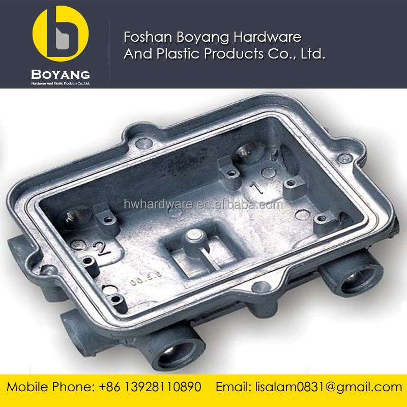 precision aluminum die casting cnc machining part