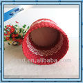 SD products round paper rope handmade large basket for storage