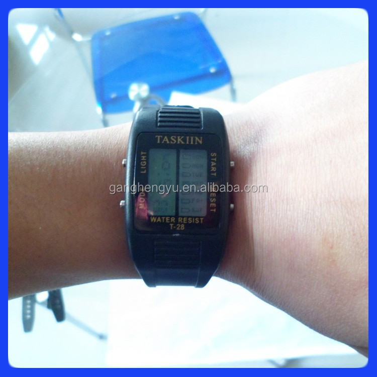 Promotional electronic watches and clocks & analog digital watch