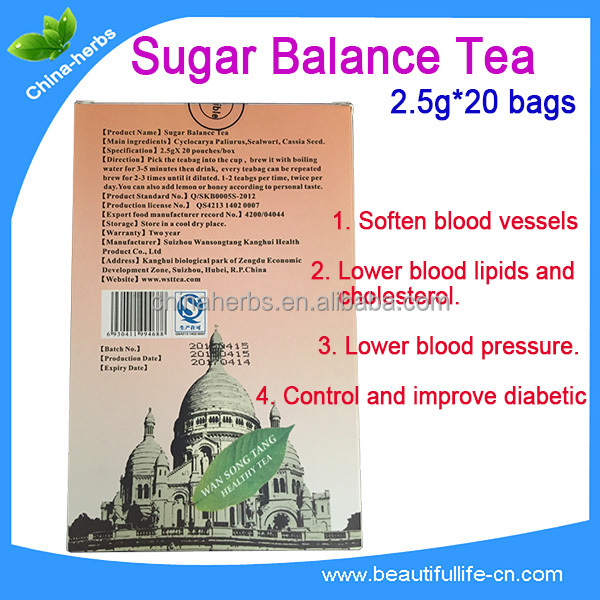 OEM or Private Label type 2 diabetes tea high blood sugar treatment