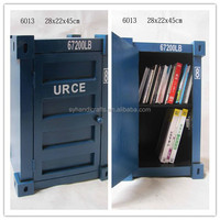 small locking wooden 2 drawers cabinet/ container book cabinet, storage cabinet, CD DVD RACK