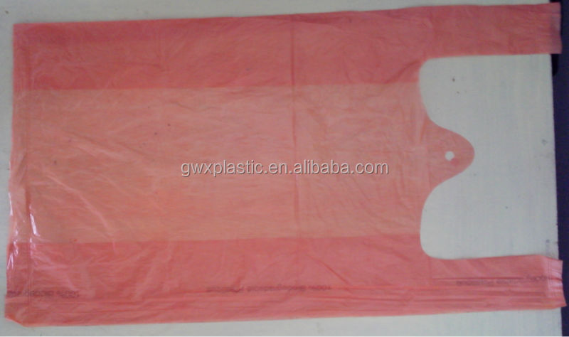 HDPE Polythene Shopper Bags For Shopping