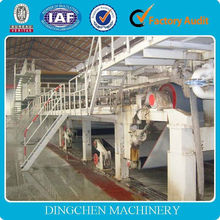 2400mm 30T/D Rice straw recycling fluting paper production line