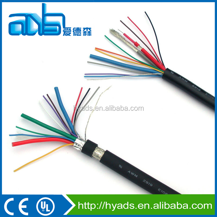 UL 2464 double shielded pvc insulation multi network cable