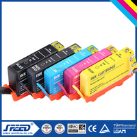 Refillable ink cartridge HP564 for hp Photosmart inkjet printer