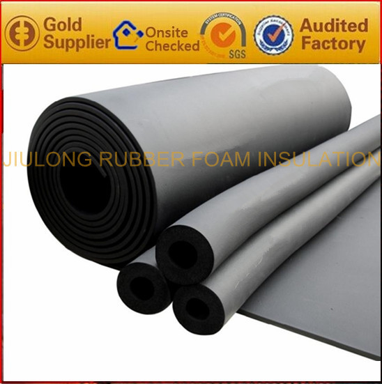 nitrile polyurethane with B1 class CE certificate conductive fabric rubber foam sheet