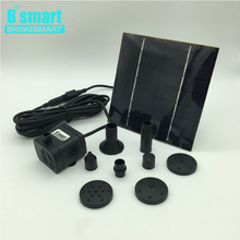 Bringsmart JT-180-1.4W 7V 1.4W 200L/H Solar Aquarium Pump Solar Surface Water Pump