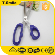 Customized size tailor dressmaking scissors to cut fabric with pvc handle
