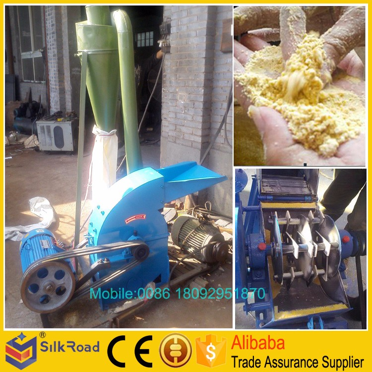 Low price corn cob crusher machine