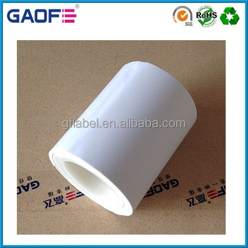 3M adhesive label printing, custom sticker label paper, waterproof gloss white label roll