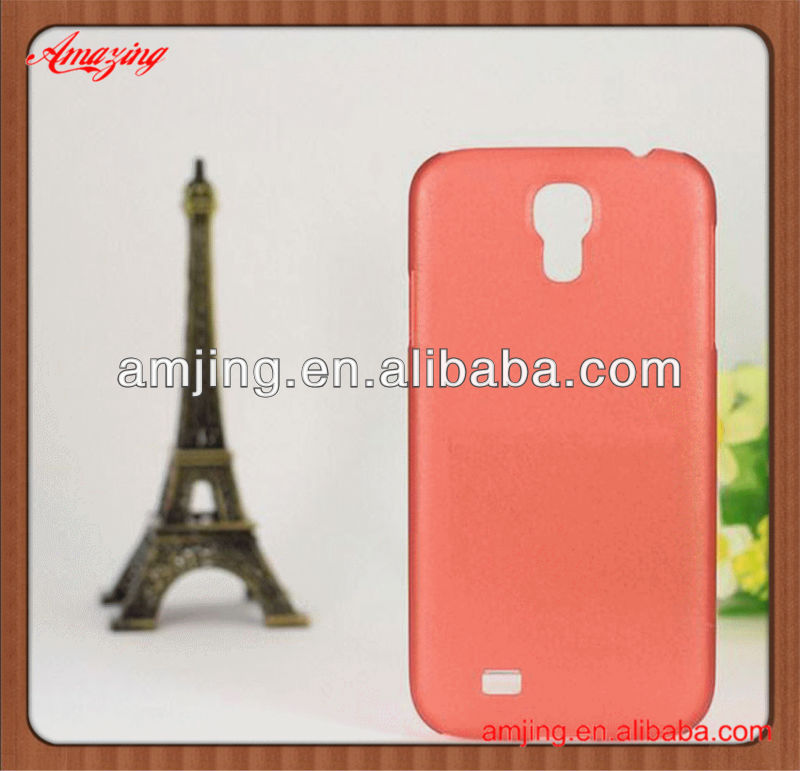 0.5mm ultra-thin transparent matte pc case for Samsung S4 i9500