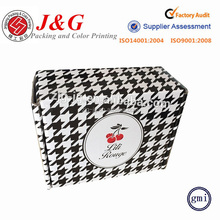 Custom logo glossy lamination packaging luxury food paper box