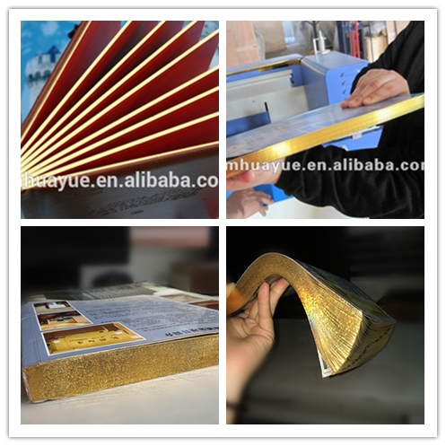 EHY-A album edge polishing and album hot stamping foil machine