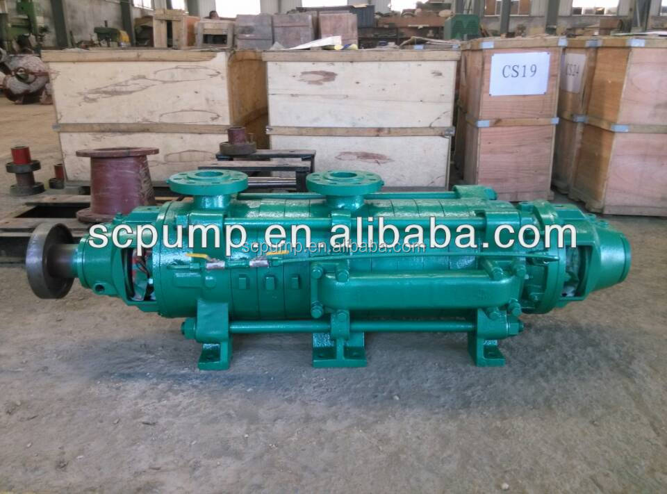 ZD high pressure multistage centrifugal pump with high pressure motor