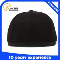 HOT NEW Black Snapback Hats Hip-Hop adjustable Baseball Cap