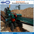Heavy duty wood chipper machine with high capacity