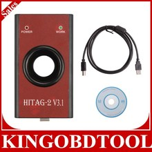 Free Shipping universal car key programming tools HiTag2 Programmer with latest software v3.1,HiTag2 V3.1 Programmer on hot sale
