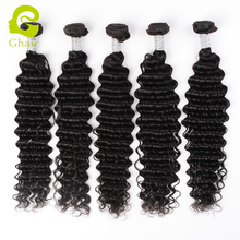 Fast shipping virgin remy hair deep wave malaysian human hair weaving natural color for wholesale
