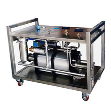 Hydrostatic Pressure Testing Machine For Cylinder Valve Operation
