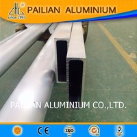 Japan Electronic Production Line Stable Aluminum tube/pipe,long term used Telescope pole/Handle Aluminum alloy square pipe price