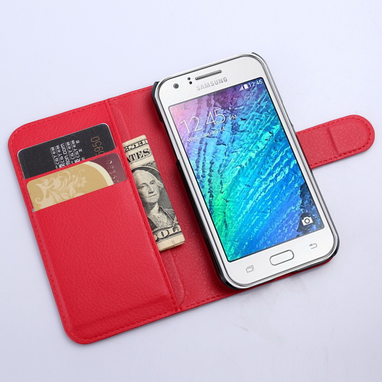 Good quality latest pu case for samsung j1 2017