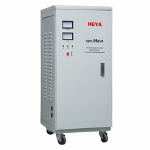 SVC 15kva single phase servo motor 220v ac automatic voltage regulator/stabilizer for video