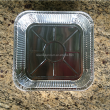 Kitchen Disposable Aluminum Foil Food Container with Smooth Wall,aluminum microwave food container