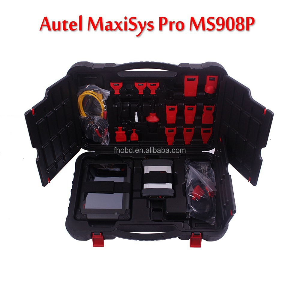 Original Autel MaxiSYS Pro MS908P MS 908p OBD2 Scanner Support Wifi and Bluetooth with ECU Programming Car Diagnostic Tool