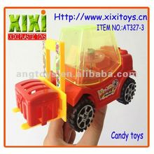 16Cm Hot Sale Non-toxic Car With Light Candy Toy Sweets