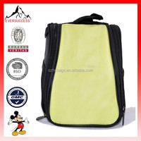 Mini black & yellow carry storage bags backpack with video game player cases(ES-H044)