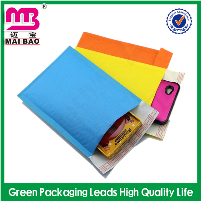 High quality wholesale custom air mailing bubble bag durable padded kraft paper mailer jiffy bags /envelope