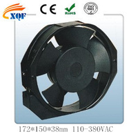 AC 170x150x38mm axial fan 110V 220V 380V Ac axial fan AC coolng fan High quality 254x254x89mm