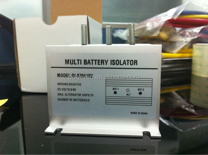 Electronic Auto Battery Isolator70A1B2