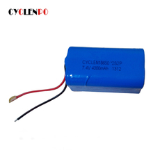 High quality 18650 rechargeable li-ion battery pack 2S2P 7.4v 4000mah for EV/telecom/energy storage system
