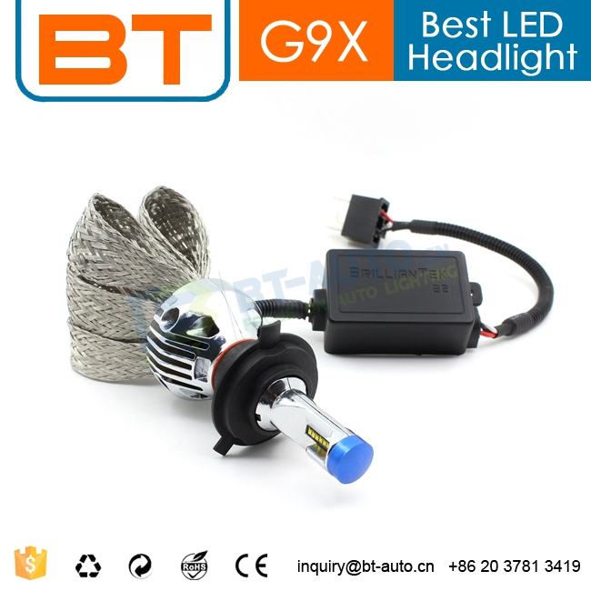 Automotive LED HEAD LIGHT lamp and new driver-H4 HL HIGH BEAM & LOW BEAM and led light lamp and led car