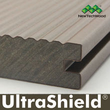 Co-extrused composite decking, Latest Co-Extrution Technology, UltraShield by NewTechWood,