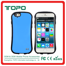 Slim Armor hard PC TPU hybrid Combo shockproof silicon mobile phone cover case for iPhone 4 5 6 6s 6 plus